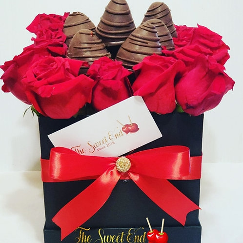 Rose Strawberry Gift Box Class