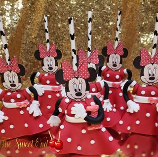 Minnie Mouse Rice Krispy Treats