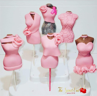 Chocolate Covered Lollipops (Breast Cancer Awarness)