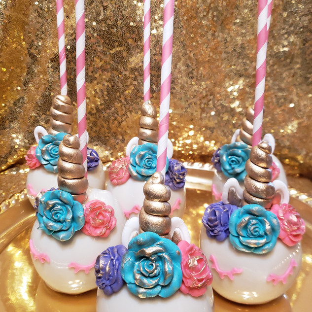 Unicorn Candy Theme Candied Apple