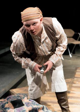 Abigail Imm as Grey in Treasure Island. Photo by Brandon James.