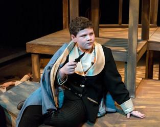 Jackson Ransom as Dick the Dandy in Treasure Island. Photo by Brandon James.