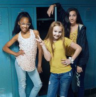 Hadley, Lily, Sage as Cassie, Charlotte,
