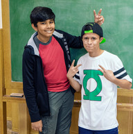Avinash and Alexis as Simon and Richie.j