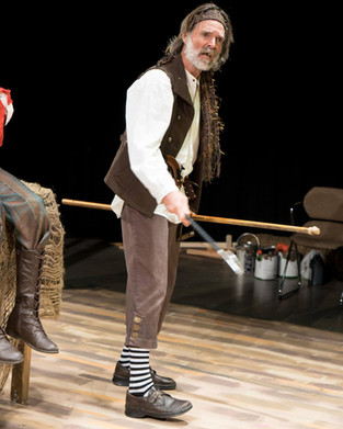 Michael Meggison as George Badger in Treasure Island. Photo by Brandon James.