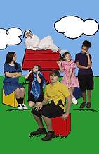 Drake Caney, Ryan Henz, Vivian Klein, Addison Tullis, Maya Falcone and Gbomi Kayode star in You're a Good Man Charlie Brown