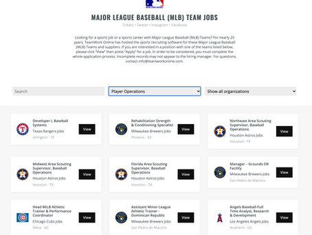 Looking to Work in Professional Baseball? Advice on How You Can Start Your Career