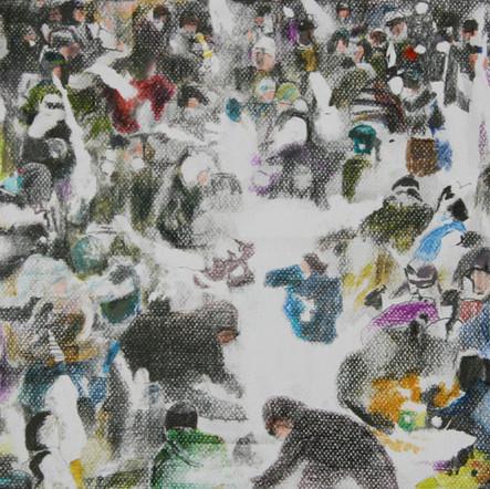 Menge (3), 2016