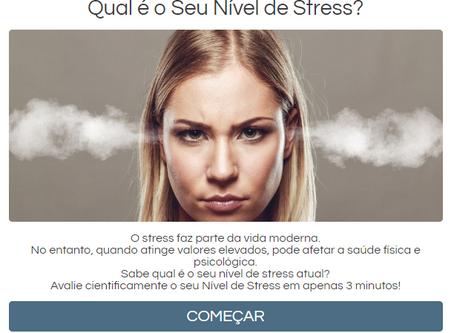 Avalie o seu nível de stress cientificamente em 3 minutos