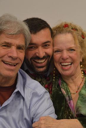 Donna Eden, David Feinstein e João Paulo Pestana