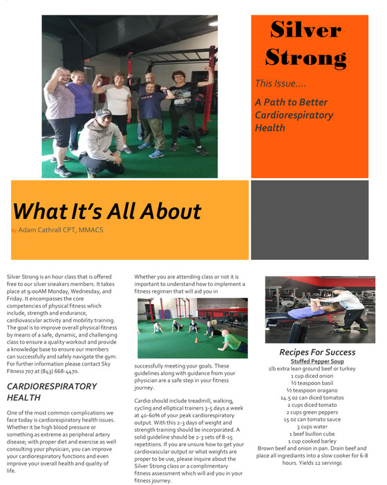 Silver Strong - What It's All About