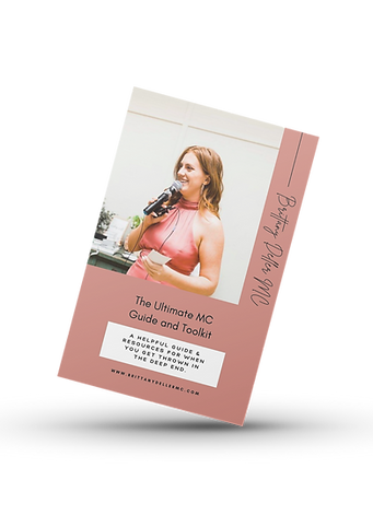 The Ultimate Master of Ceremonies Guide & Toolkit