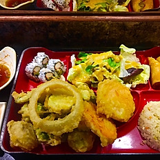 Vegetable Tempura Dinner Box