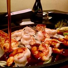 Shrimp or Salmon Teriyaki