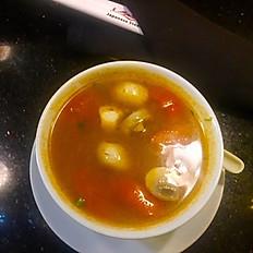 Spicy sour soup
