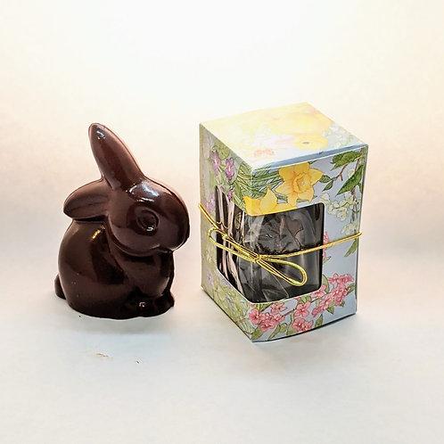 Organic Baby Easter Bunny, Dark Chocolate (4.65 oz)