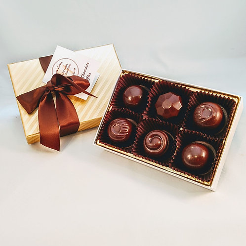 6 Nouveau Truffles/Bonbons, Organic Vegan. Discount for purchasing 2 or more