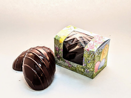 Vegan Organic. Whole Chocolate Truffle Easter Egg