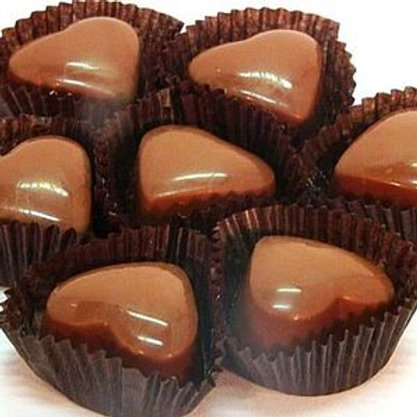 50 Milk Chocolate Traditional Truffles (with dairy), Bulk Packed