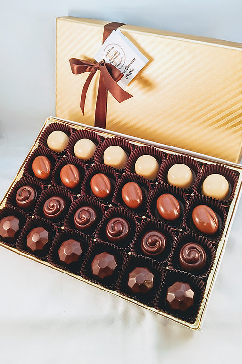 24 Classique Truffles/Bonbons Collection (with dairy)