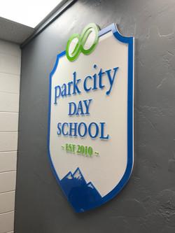 PC Day School lobby sign2