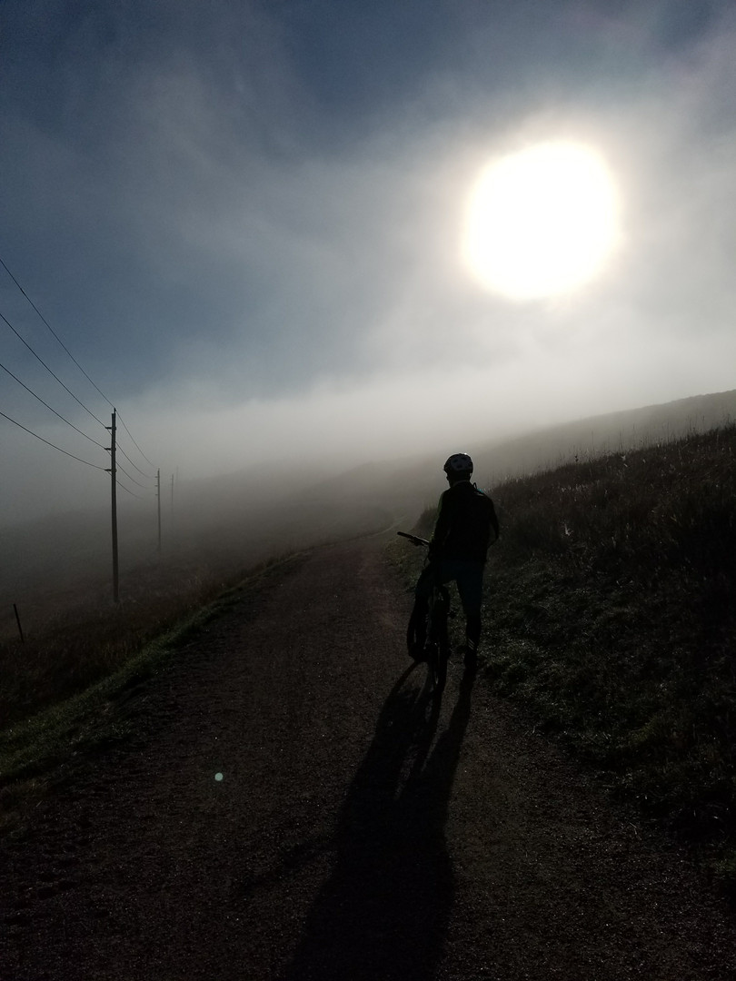 Ride Through The Fog