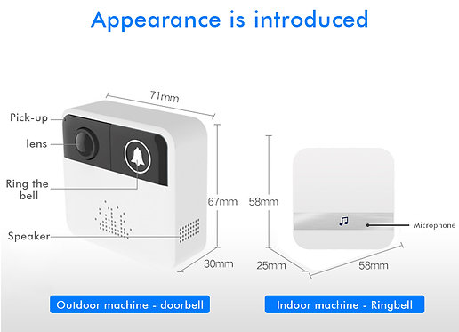 Wireless Intercom Door Bell Wifi