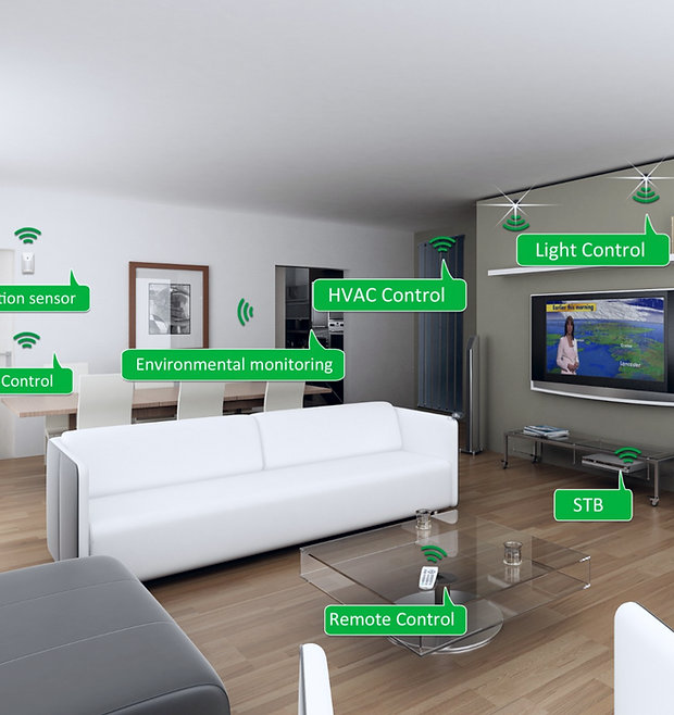 Internet Of Things IOT smart services for residential and commercial purposes.