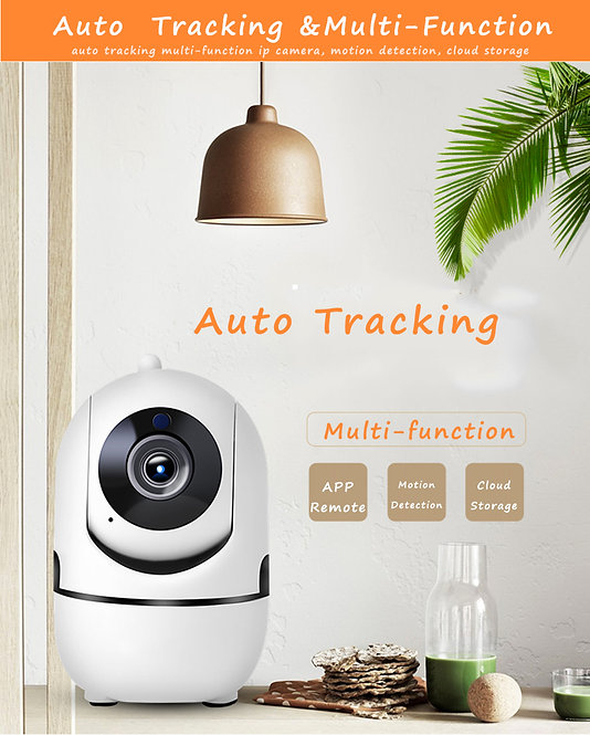 Auto tracking IP Camera 1080P