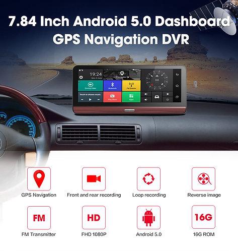 "7.84"" DASH  1080P Android 5.0 3G&WIFI GPS Navigation"