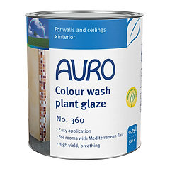 No. 360 - Color wash plant glazes
