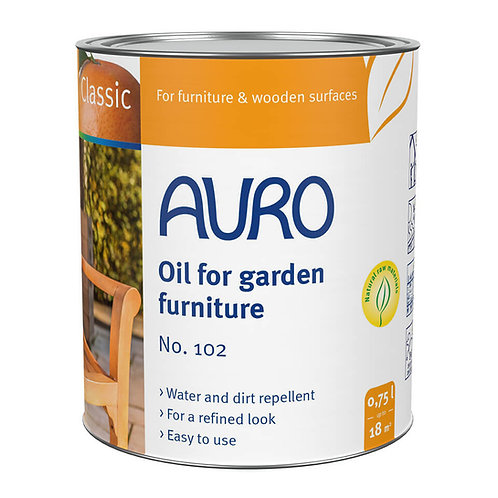 No. 102 - Oil for garden furniture