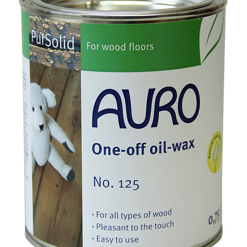 No. 125 - One-off oil wax