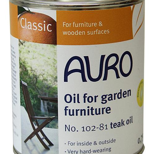 No. 102 - Oil for garden furniture