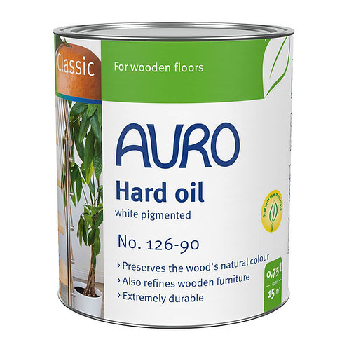 No. 126-90 - Hard oil, white