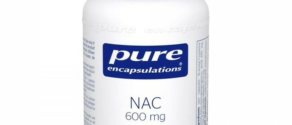 Pure Encapsulations NAC 600 mg - 90 Veg Capsules