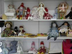 Les poupées.