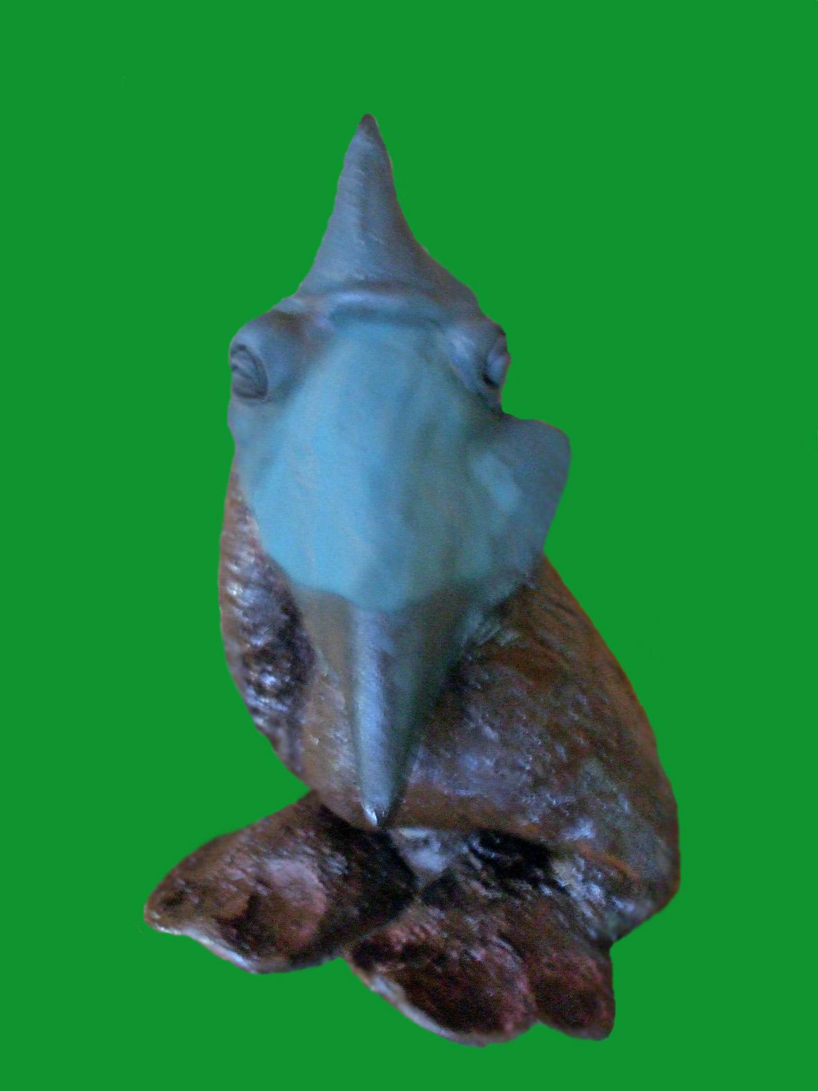 Monstre bleu