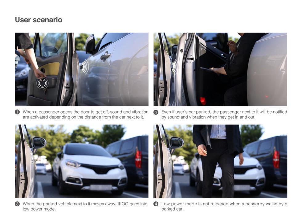 IKOO / Car door dent protector