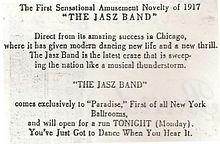 he Jasz Band 1917