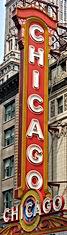 Chicago theatre sign