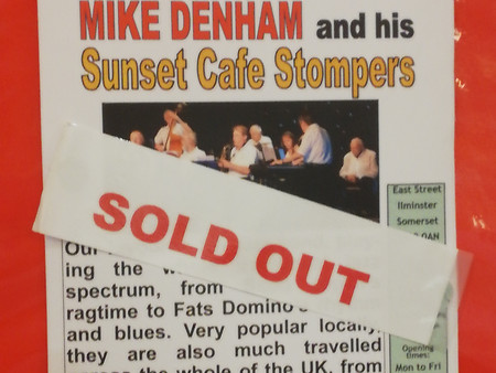 Sold Out at Ilminster Arts Centre