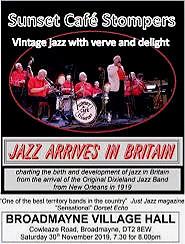Jazz Arrives In Britain ...