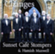 """The Sunset Cafe Stompers 2017 CD """"Changes"""""""