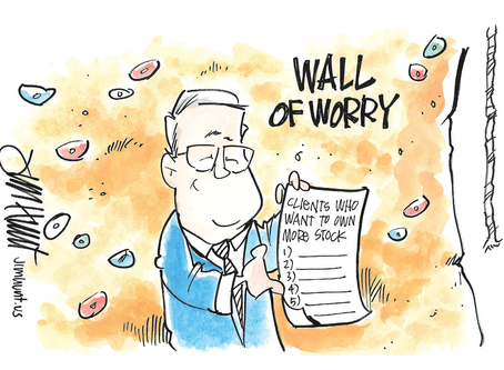 Climbing the Wall of Worry