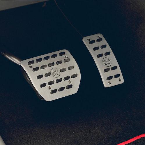 Aluminium pedal pads