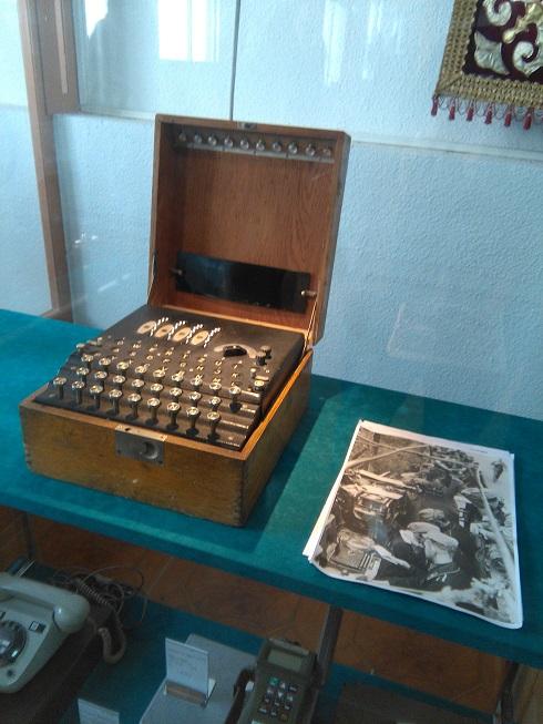 Máquina Enigma PCMMT El Pardo