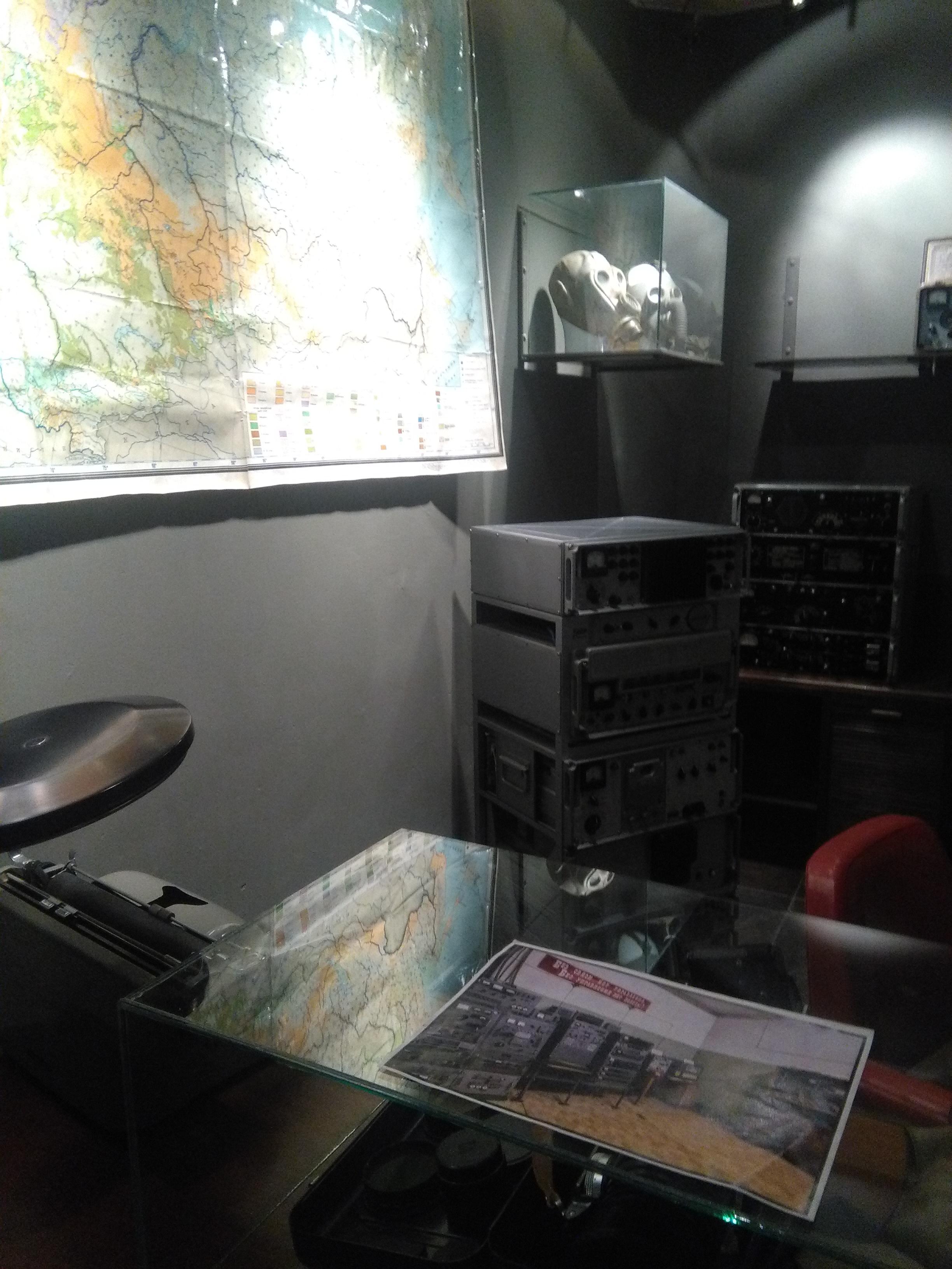 Sala COMINT - Museo Bocanegra