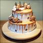 golden sixteen cake