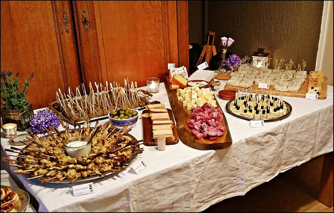 hapjes buffet